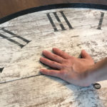 hands of time memory clock - how to add painted hand to clock